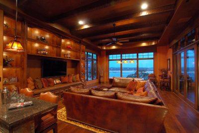 Austin custom home builder gameroom