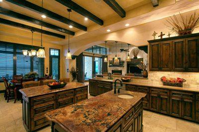 Austin Texas Custom Home Builders Kitchen